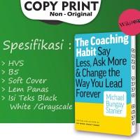 The Coaching Habit - Michael Bungay Stanier (Buku Leadership/ Repro)