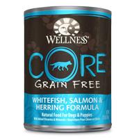 Wellness CORE Whitefish, Salmon, Herring Formula Canned Dog Food 354g