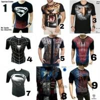 Jual MURAH ! Baju Kaos cowok distro captain america civil war superhero Murah
