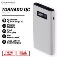 Best Ever Powerbank Delcell Tornado 10000 Mah Qualcomm 3.0 Power Bank