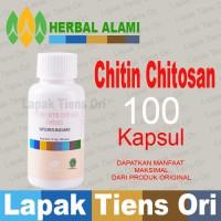 Tiens Chitin Chitosan ( DETOX / PELANGSING) Tianshi, 100 Kapsul/btl