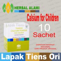 KALSIUM PENINGGI ANAK Tiens Calcium For Children Tianshi,10 Sachet