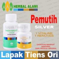 Tianshi PEMUTIH PENCERAH BADAN PAKET SILVER Tiens ( Vitaline+ Renuves)