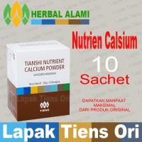 Nutrient Calcium Powder [Peninggi Dewasa]Tiens Tianshi , 10 sachet/box