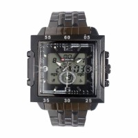 valentine gift jam tangan swiss time digital/black/bermerk