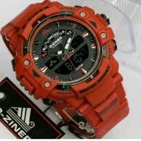 jam tangan pria d-ziner warna merah