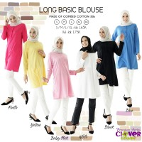 Kaos Wanita Lengan Panjang/Baju Olahraga Muslimah Cotton Combed/Inner