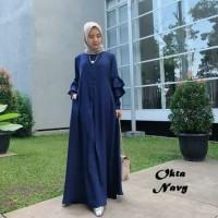 Dress Maxi Okta Navy