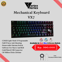 VortexSeries Mechanical Keyboard VX7 (TKL)