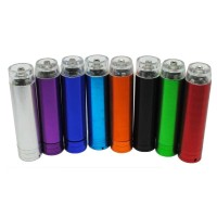 Case Power Bank Aluminium Baterai AA - Model 1-Multi Warna