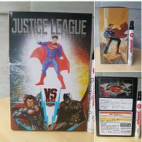 mainan action figure superman mini statue man of steel justice league