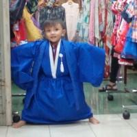 kostum kimono anak jepang
