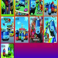 stiker kulkas 1 pintu Thomas