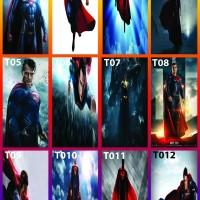 stiker kulkas 1 pintu Superman