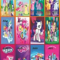 stiker kulkas 1 pintu motif little pony
