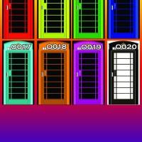 stiker kulkas 1 pintu motif telepon