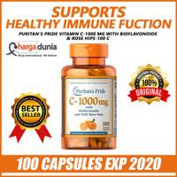Puritan's Pride Vitamin C-1000 mg with Bioflavonoids & Rose Hips-100 C