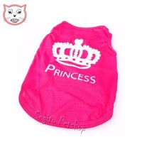 Baju Kaos Kucing Kitten Motif Princess
