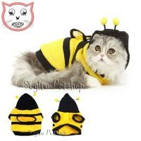Baju Kaos Kucing Kitten Motif Lebah