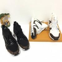 sepatu wanita sneaker lv miror quality sepatu balenciaga bally her mes