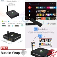 MECOOL KM8 Google Certified Android 8.0 TV Box RAM 2GB ROM 16GB Voice