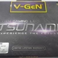 RAM DDR4 V-GeN TSUNAMI 8GB 2666MHz CL16 (2X4GB) LED-RAM GAMING OC VGEN