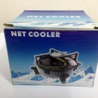 Kipas Processor NET COOLER for INTEL LGA 775/ Heatsink Fan ORIGINAL