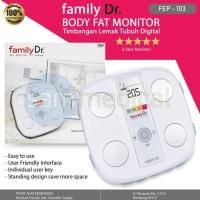Harga diskon family dr body fat monitor timbangan lemak tubuh | Pembandingharga.com