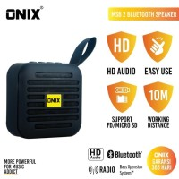 Onix Bluetooth Speaker MSB / Mini Square Box - High Definition Sound