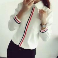 Hem kemeja baju wanita model korea best seller