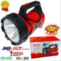 Senter Aoki super besar AK 6671 dengan lampu LED tahan 18 Jam Murah
