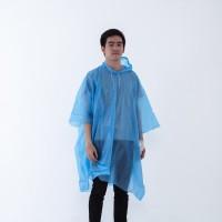 Jas hujan ponco plastik polos warna / kelelawar / kalong / GRC - 87002