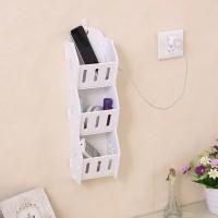 Harga mh503 storage decorative rack shabby chic rak kosmetik hp remote | antitipu.com