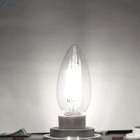 Lampu Pijar E14 LED COB Bisa Diredupkan Model Lilin 440LM 110V