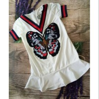 dress anak bordir merk celia baby kids fashion dress baju imlek