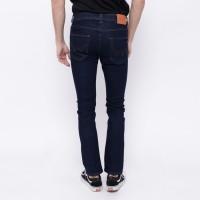 Harga edwin celana jeans slim fit pria panjang dark blue la | Pembandingharga.com