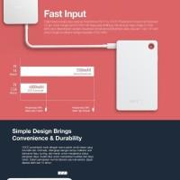 Powerbank Oppo Fast Charging VOOC 3.5 Ampere V201 6000 MaH