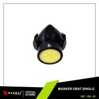 Masker Obat Single Filter Nankai
