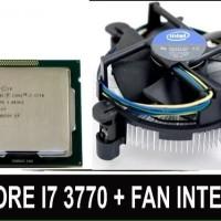 intel core i7 3770 3.40 ghz lga 1155 plus fan