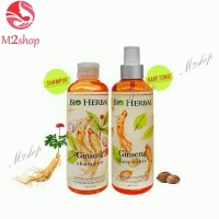 Paket Bio Herbal Ginseng Shampoo & Hair Tonic BPOM