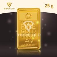 Emas Antam 25 gram Logam Mulia Garansi Uang Kembali Include Sertifikat