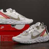 NIKE REACT ELEMENT 87 SAIL LIGHT BONE (UNAUTHORIZED AUTHENTIC)