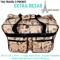 Tas Travel XXL Pocket Paris BEIGE