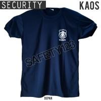 Kaos Sekuriti Oblong Security Satpam Shirt Tangan Pendek Bagus Murah