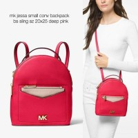 48f25ce28a4d Tas Michael Kors original - mk jessa small backpack deep pink s