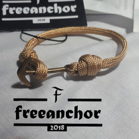 GELANG PARACORD/PARACORD BRACELET SINGEL KNOT STYLE ANCHOR WEBING