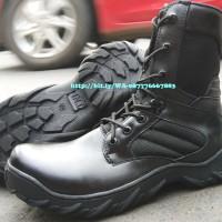 Sepatu PDL MODEL DELTA Tactical 8inc ASLI KULIT SAPI Made in BANDUNG