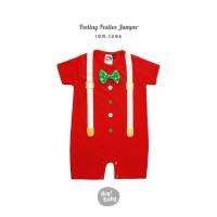 Hey Baby Feeling Festive Romper Jumper Bayi