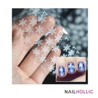 snow flakes nail foil / nail art kuku