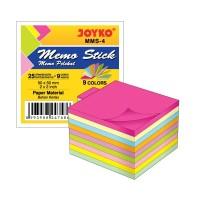 Memo Stick / Sticky Note / Kertas Memo / Memo Tempel Joyko MMS-4